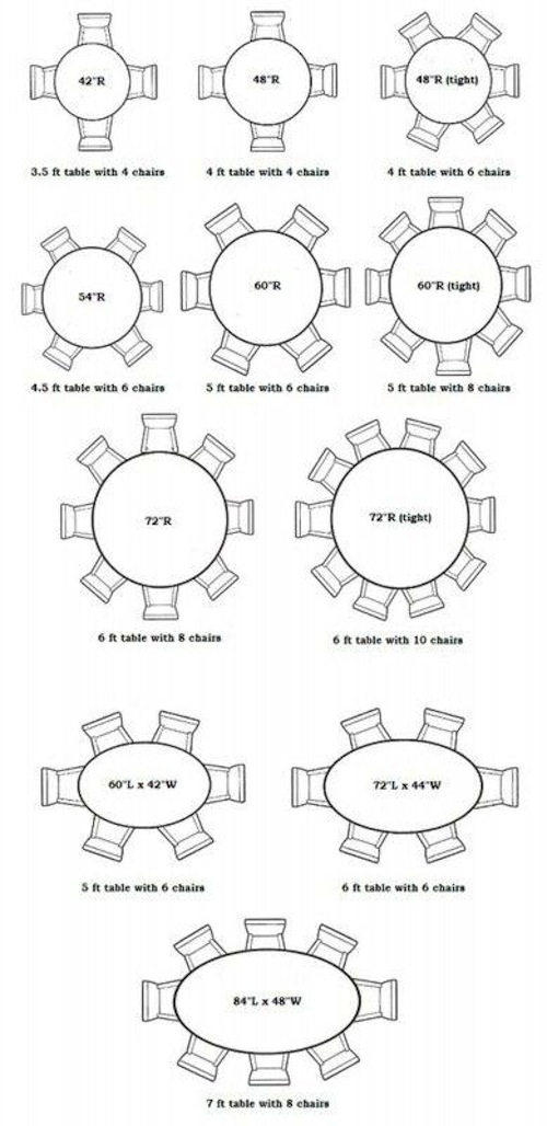12 Person Round Table Designs