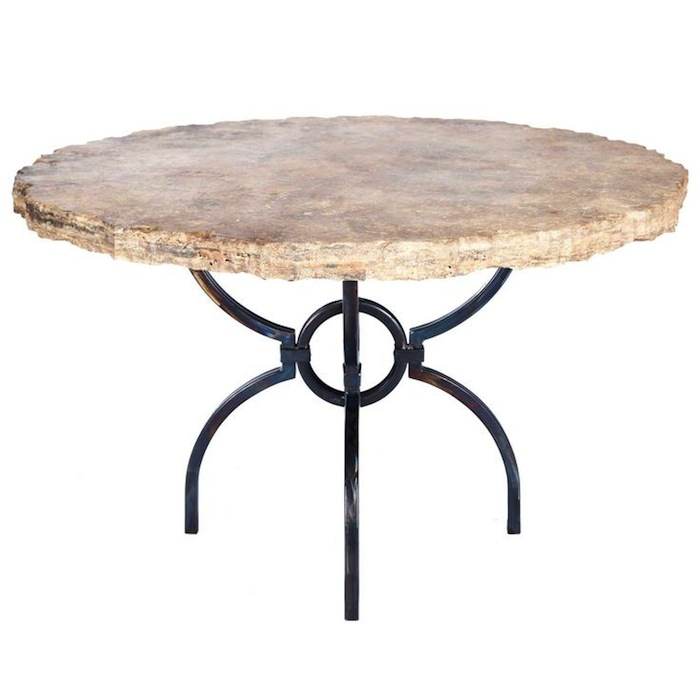 Logan Dining Table with Marble Top