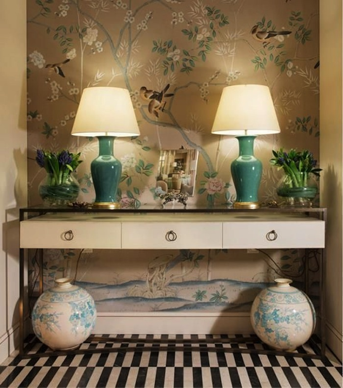 Top home decor trends 2015 for Home wallpaper trends