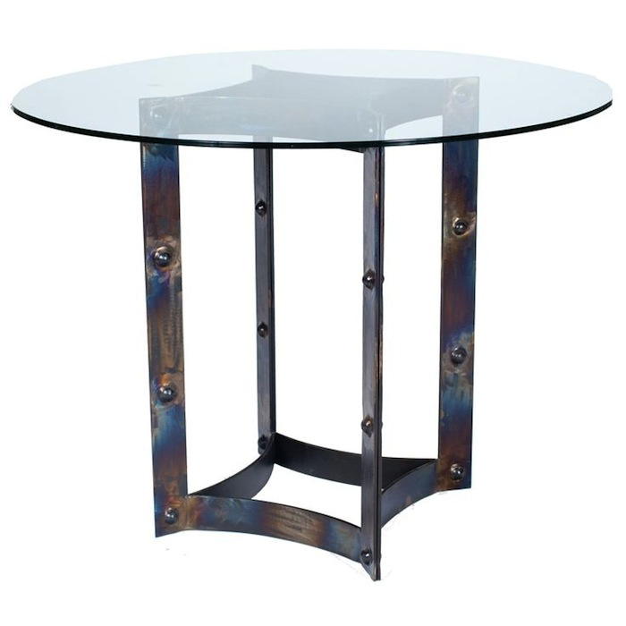 Round Wrought Iron Dining Tables Youll Love