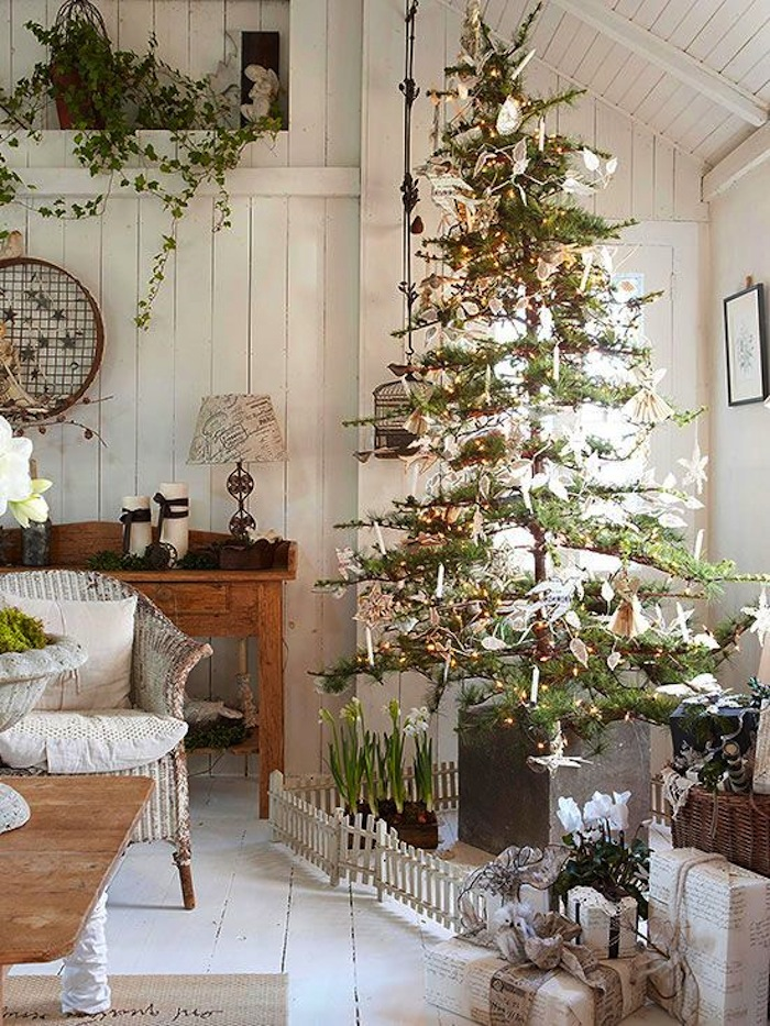 Lights white christmas lights christmas lights bedroom xmas lights - 10 Country Christmas Decorating Ideas
