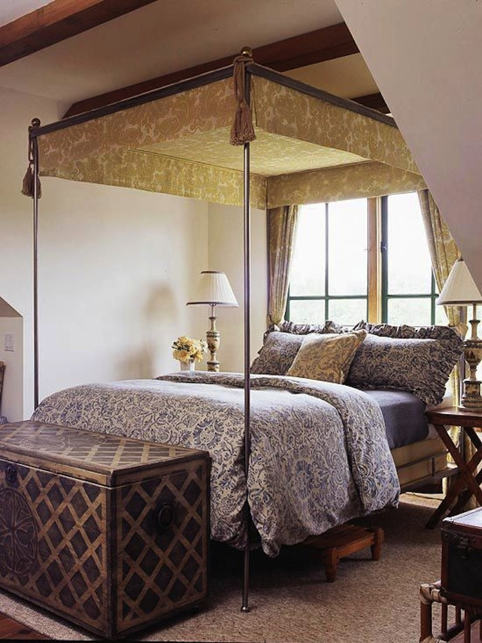 World Bedroom Furniture: Inviting Old World Style Bedrooms