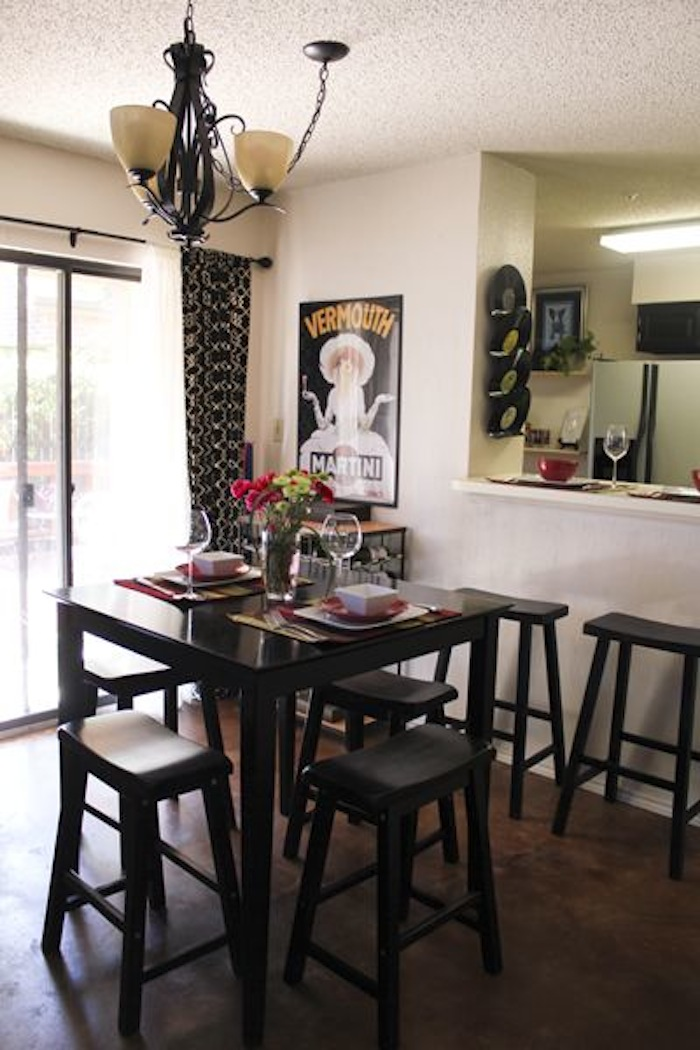pub tables in the kitchen | artisan crafted iron furnishings and