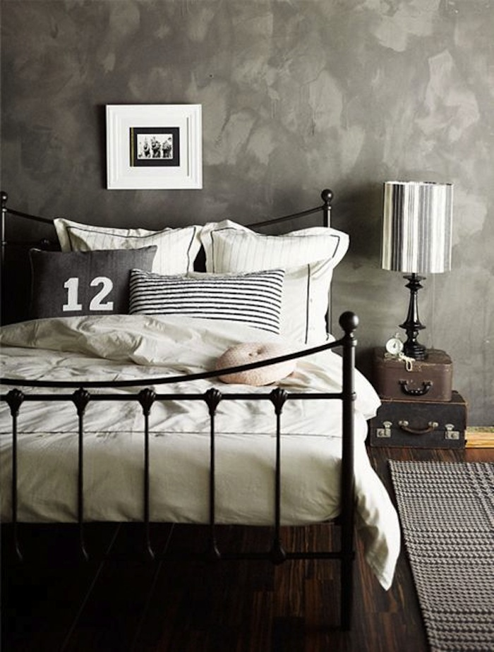Wrought Iron in Bedroom