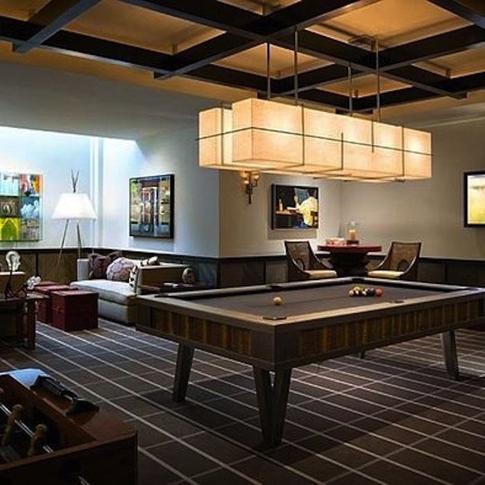 Game Room: Pub Tables In The Game Room