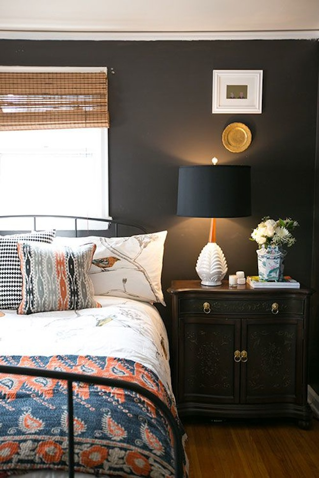 Wood And Metal Bedside Table: Bedside Tables For Handsome Bedrooms