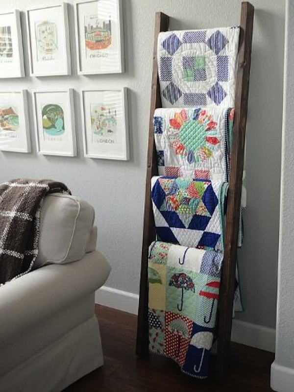 10 Ways To Display A Quilt