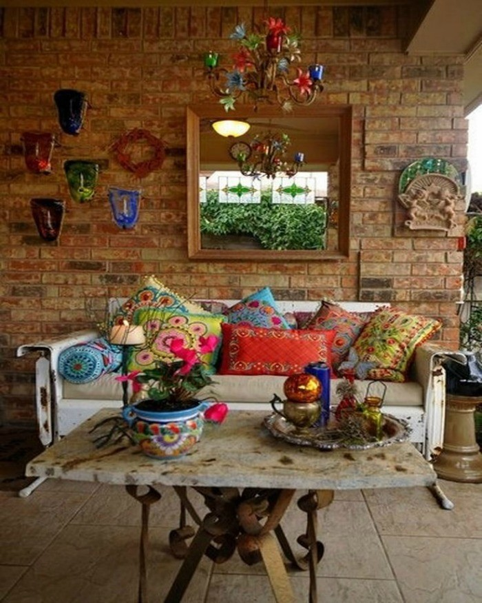 Happy Home Designer Tips: Happy Home: Colorful Terrace & Patio Ideas