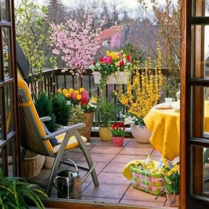 colorful patio ideas 7