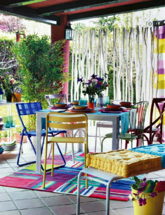 colorful patio ideas 9