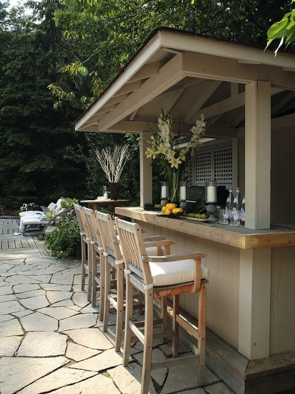 Large & Small: Cool Outdoor Bars You'll Love | Artisan ... on Backyard Patio Bar id=99209