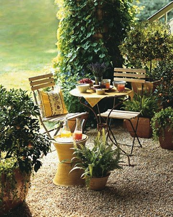 Outdoor Bistro Chairs