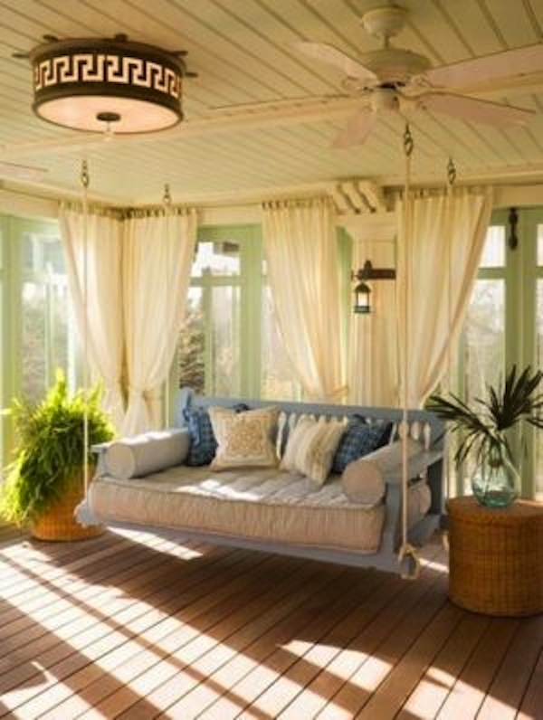 Porch Swing Blue