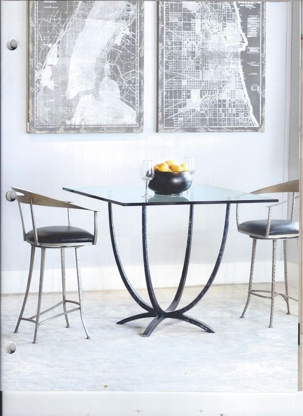Charleston Forge Square Dining Table