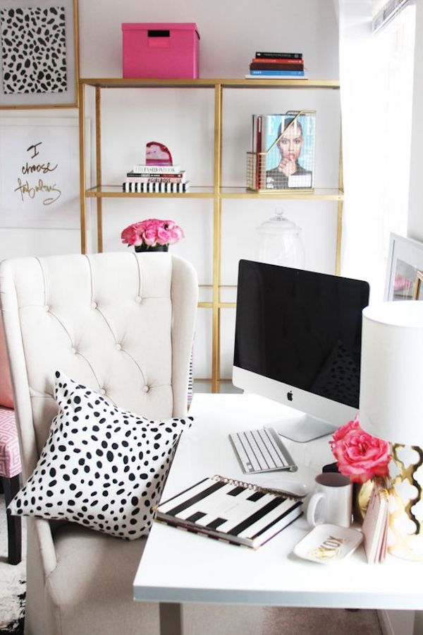 Spring Inspired Home Office