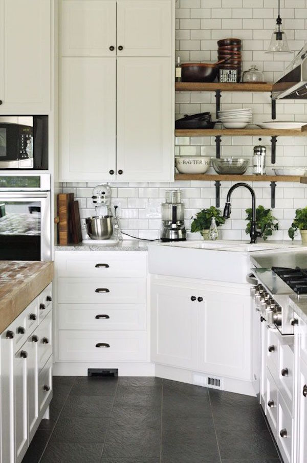 Awesome Decor Open Shelves In The Kitchen Artisan